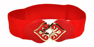 Heart Belt Red