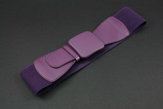 Purple Stretch Belt
